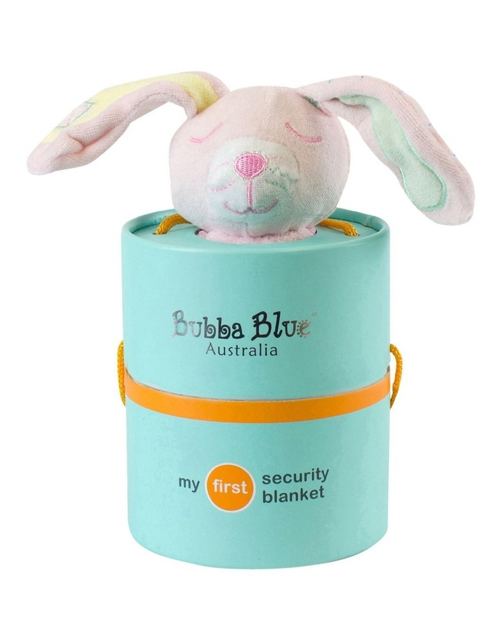 Pink Bunny Security Blanket image 1