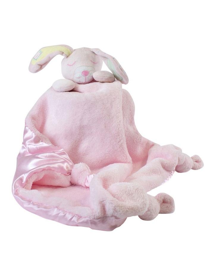 Pink Bunny Security Blanket image 2