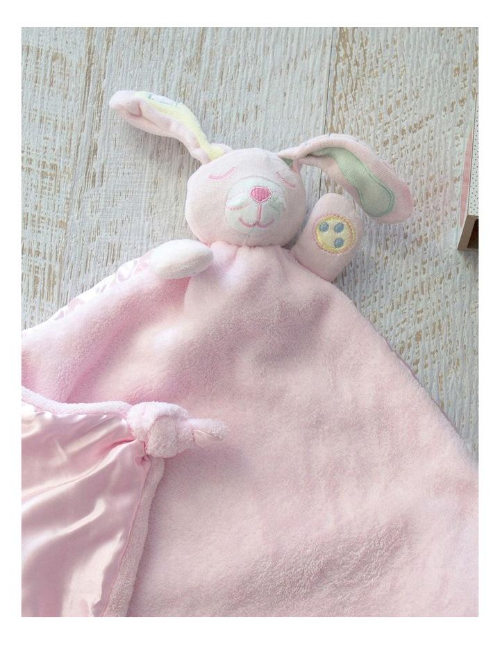 Pink Bunny Security Blanket image 3