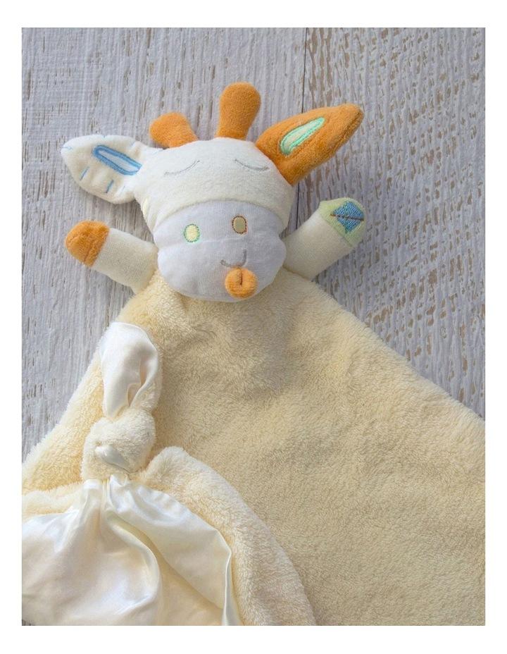 Lemon Giraffe Security Blanket image 2