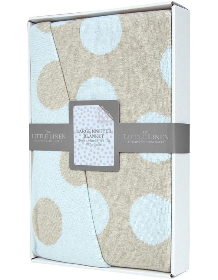 Large Cotton Knit Blanket  Windsor image 1