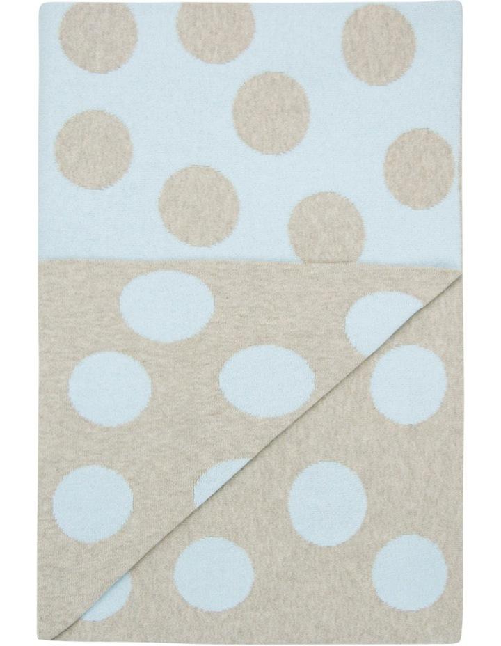 Large Cotton Knit Blanket  Windsor image 2