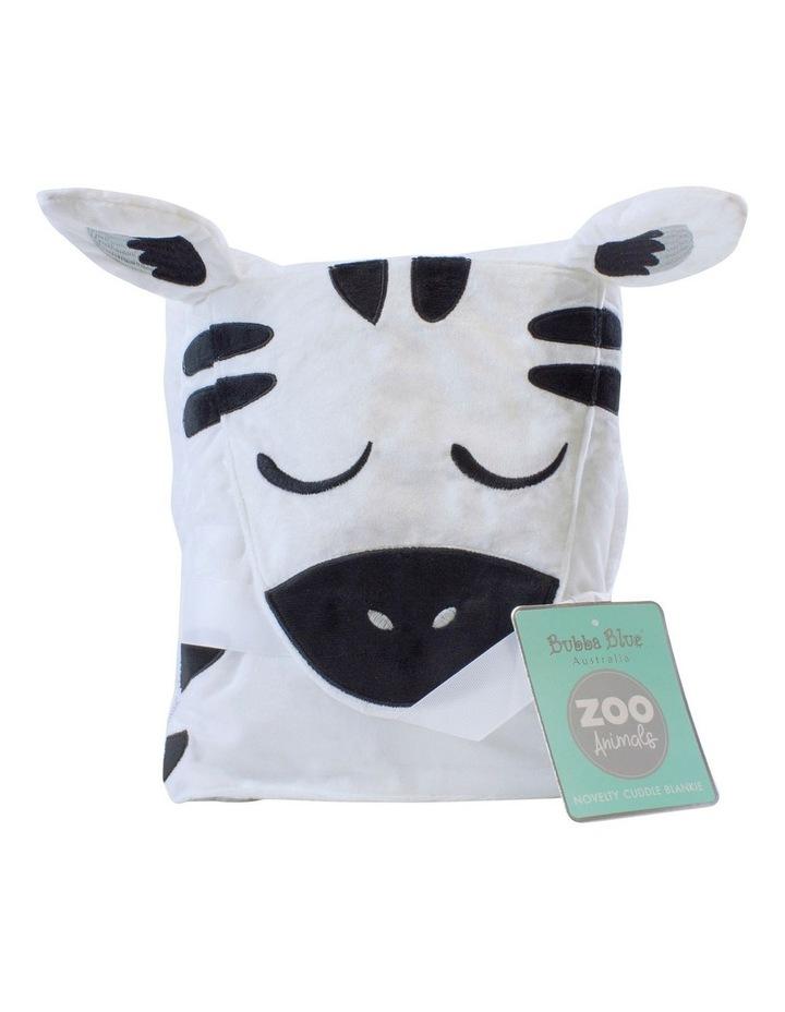 Zebra Novelty Blankie image 1