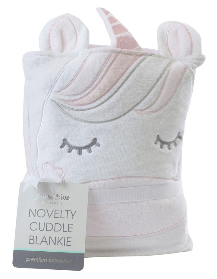 Unicorn Magic Novelty Cuddle Blankie image 1