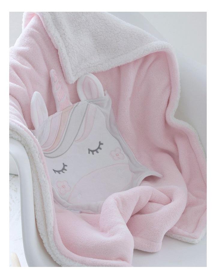 Unicorn Magic Novelty Cuddle Blankie image 2