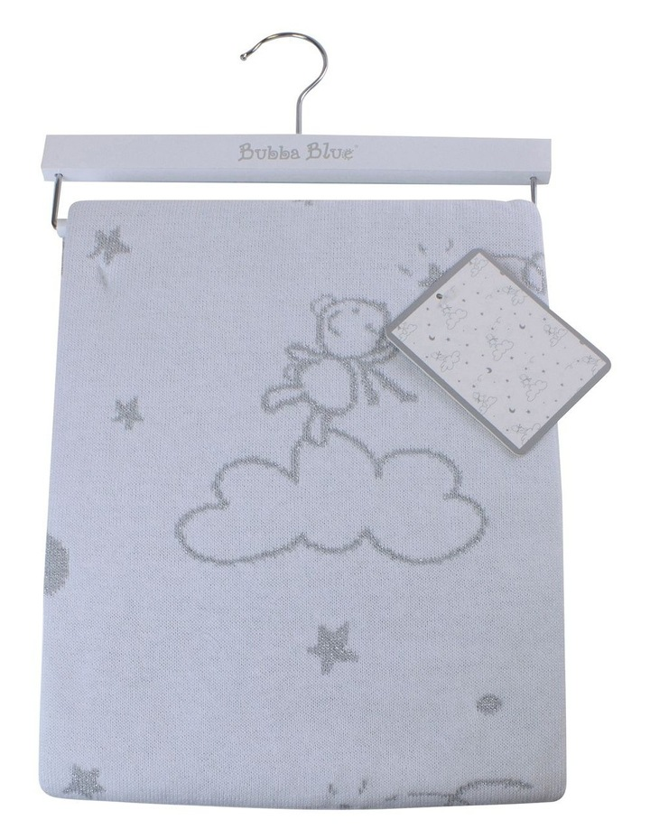 Wish Upon A Star Knit Baby Blanket image 1