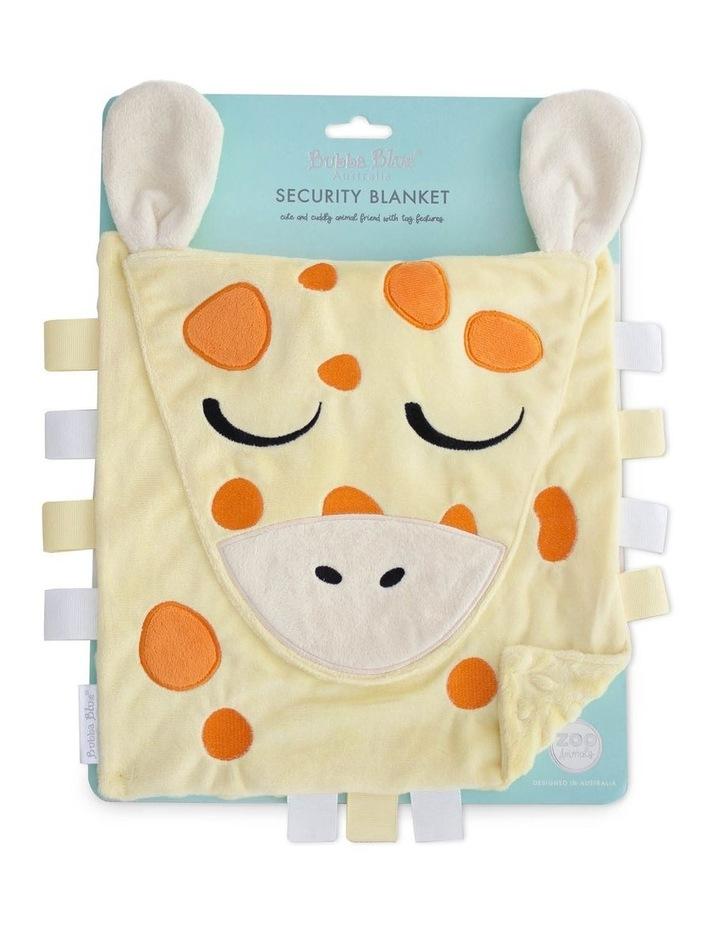 Zoo Animals Security Blanket Giraffe image 1
