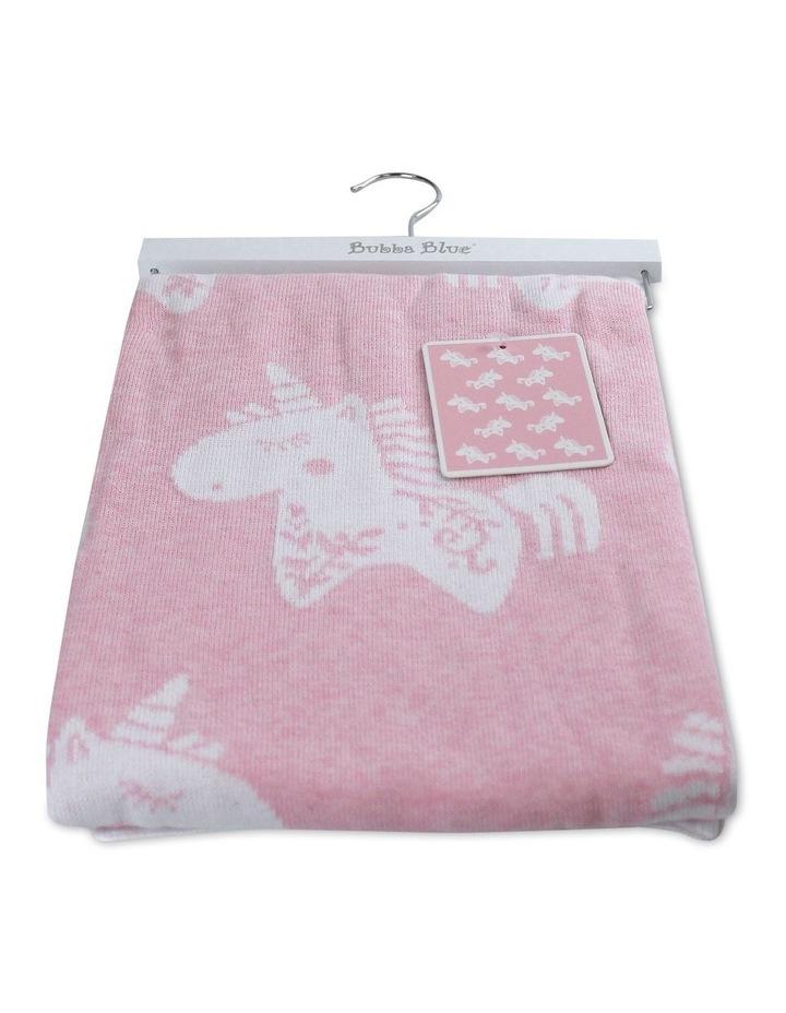 Unicorn Magic Knit Blanket image 1