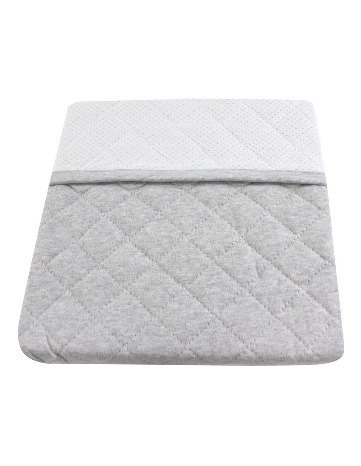 Breathe Easy 2.5 Tog Sleep Pouch - White/Grey Standard Cot image 4