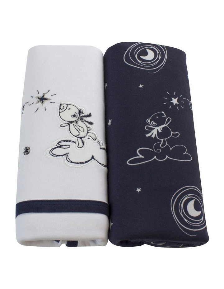 Navy Wish Upon A Star 2 Pack Jersey Wraps image 3