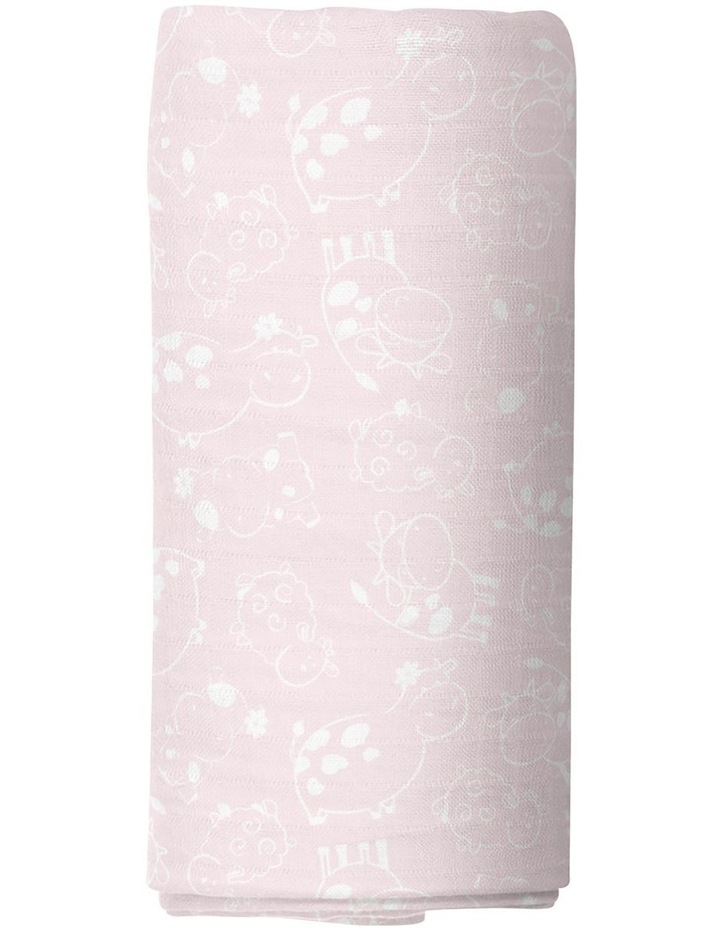 Sweet Daisy 2 Pack Muslin Swaddles image 3