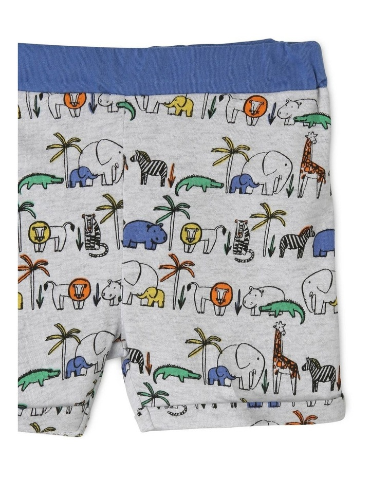 Safari Animal Grey Pajamas Set image 3