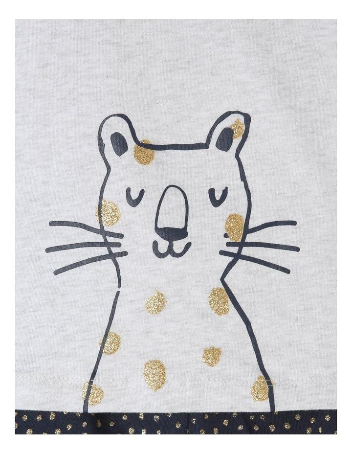 Girls Essential Cheetah Pajamas Set image 3