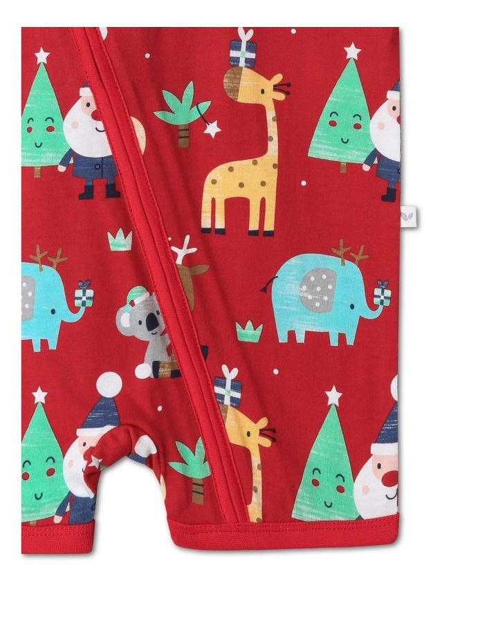Sprout Animals Red Christmas Onesie image 3