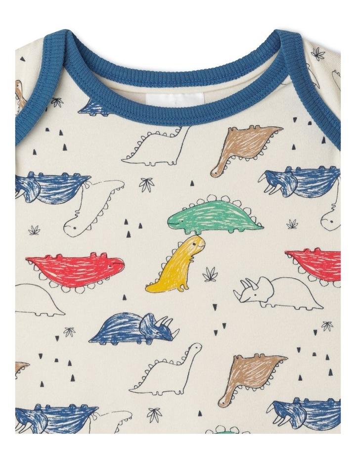 Enzo Sketchy Dino Organic Pyjamas image 2