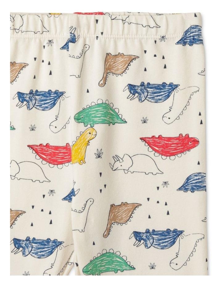 Enzo Sketchy Dino Organic Pyjamas image 5