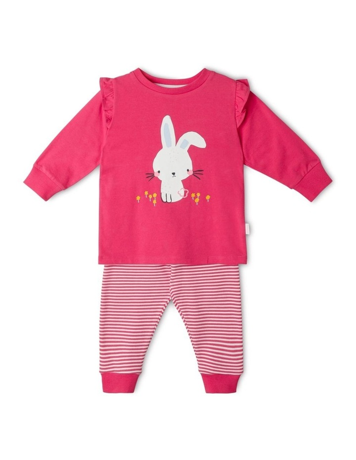 Freya Bunny Organic Pyjamas image 1