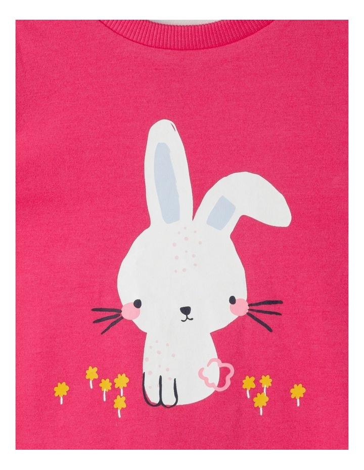 Freya Bunny Organic Pyjamas image 2