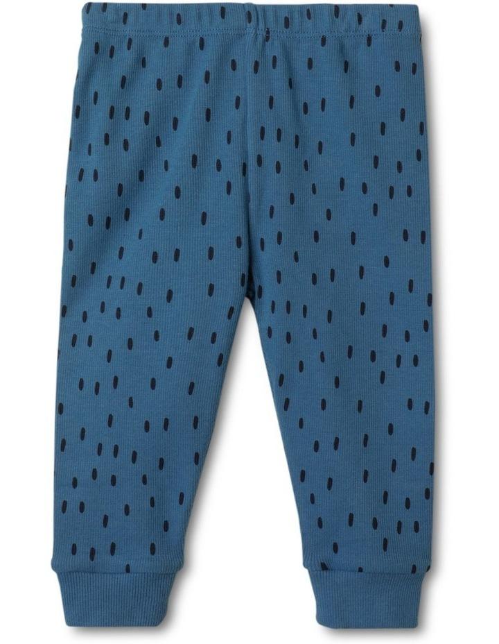 Enzo Sloth Blue Organic Cotton Pyjamas Set image 4
