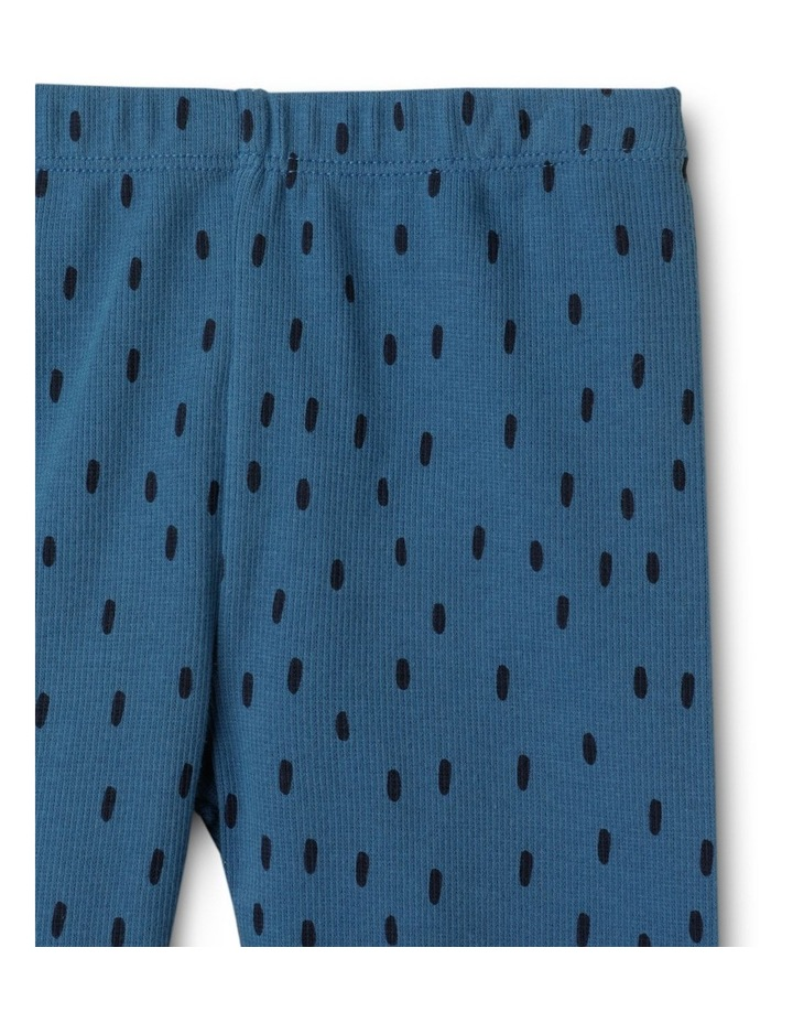 Enzo Sloth Blue Organic Cotton Pyjamas Set image 5
