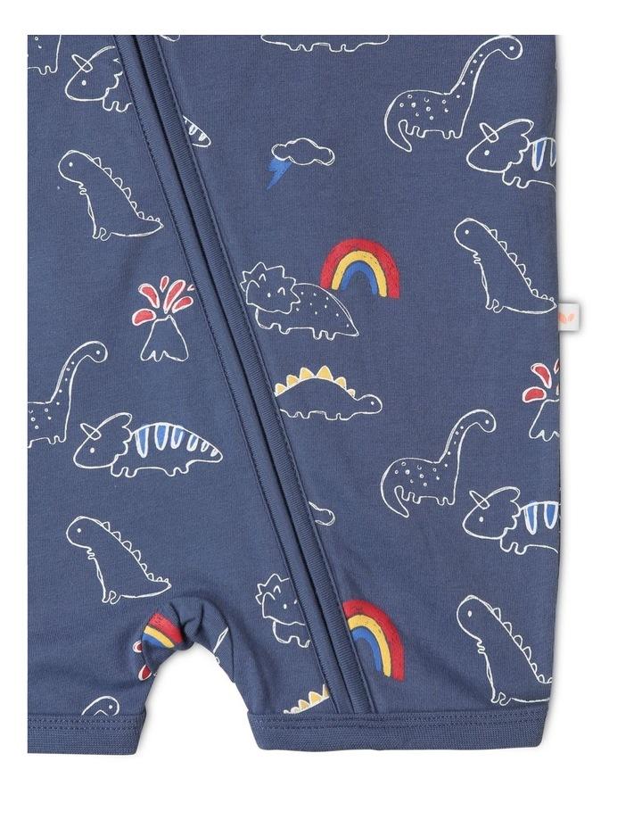 Dino Rainbow Onesie image 4
