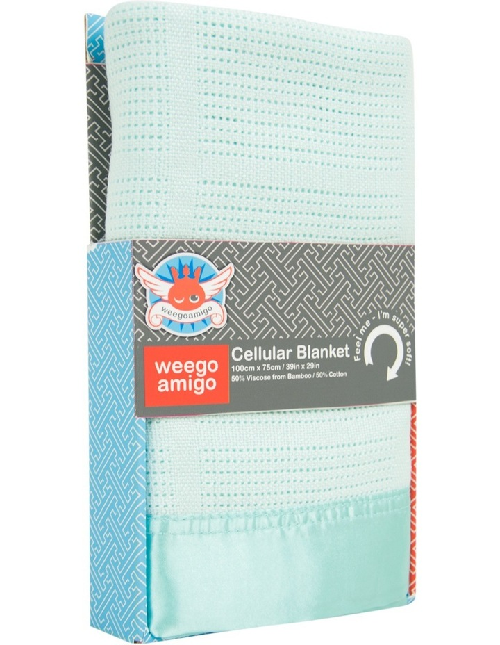 Cellular Blanket - Sage image 1