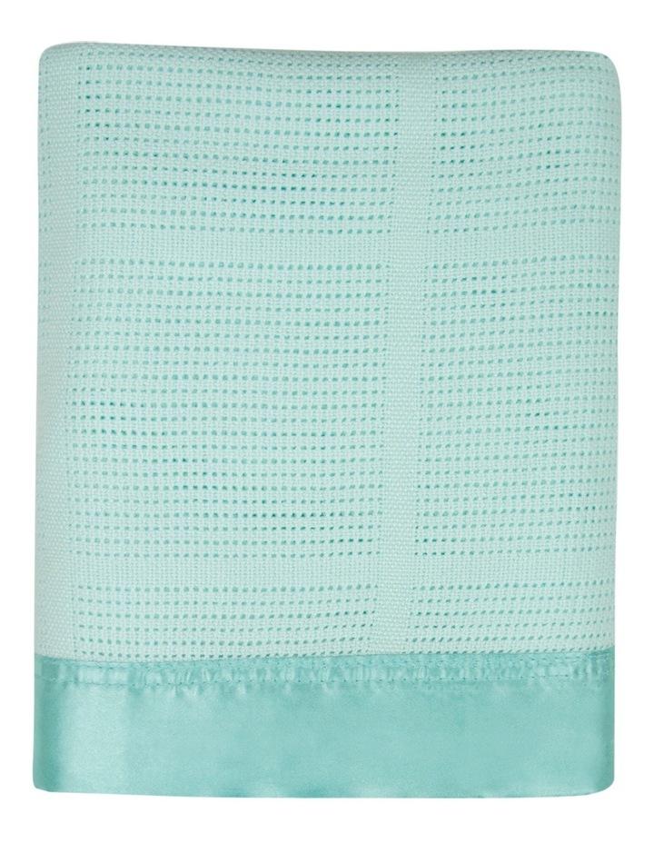Cellular Blanket - Sage image 2