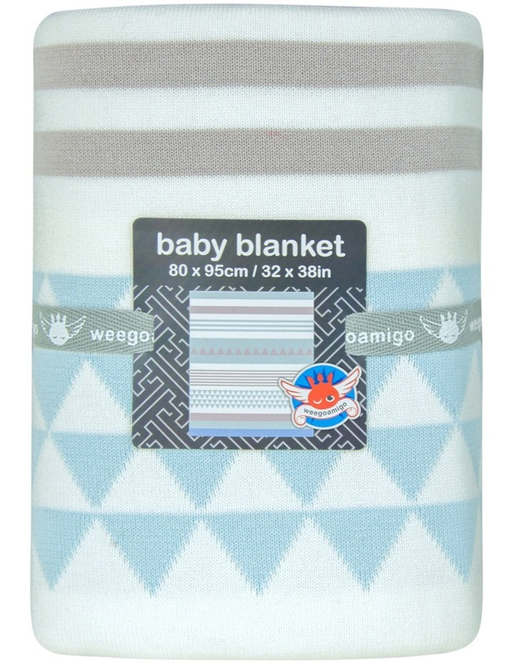 Cotton Knit Blanket  Oslo image 1