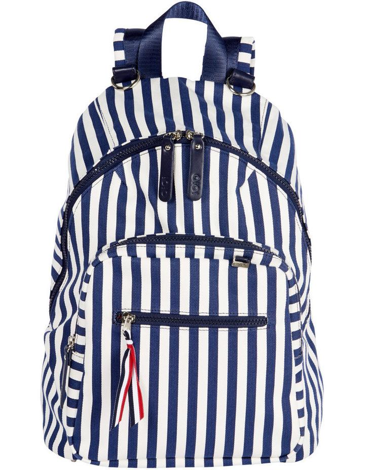 Stripe Backpack image 1