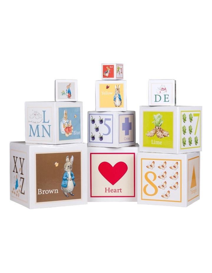 Peter Rabbit building blocks image 1
