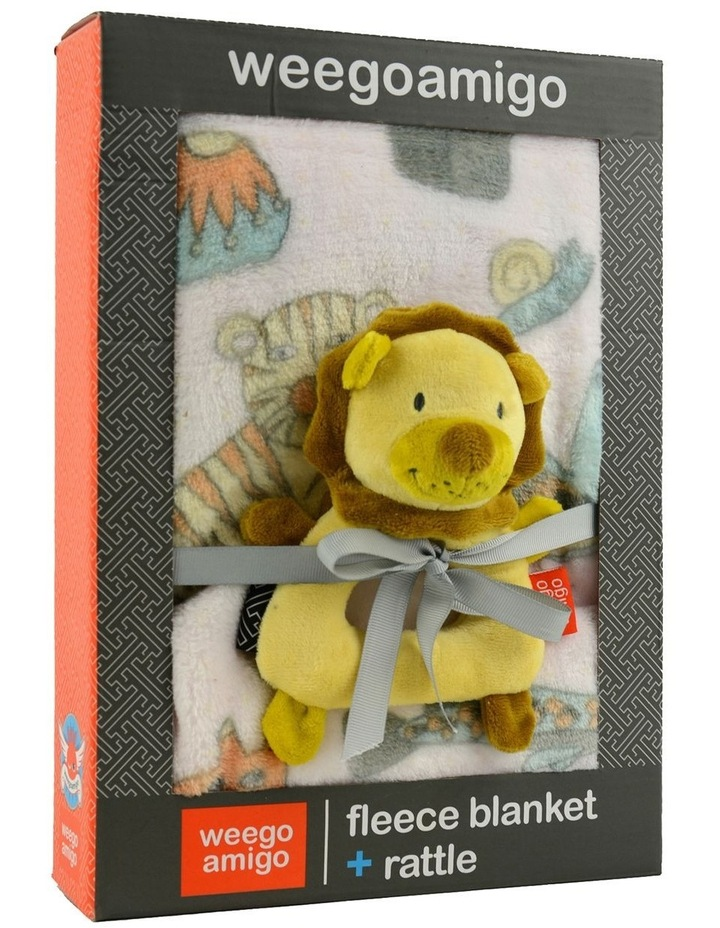Weego Colourplay Plush Rattle   Blanket - Lion image 3