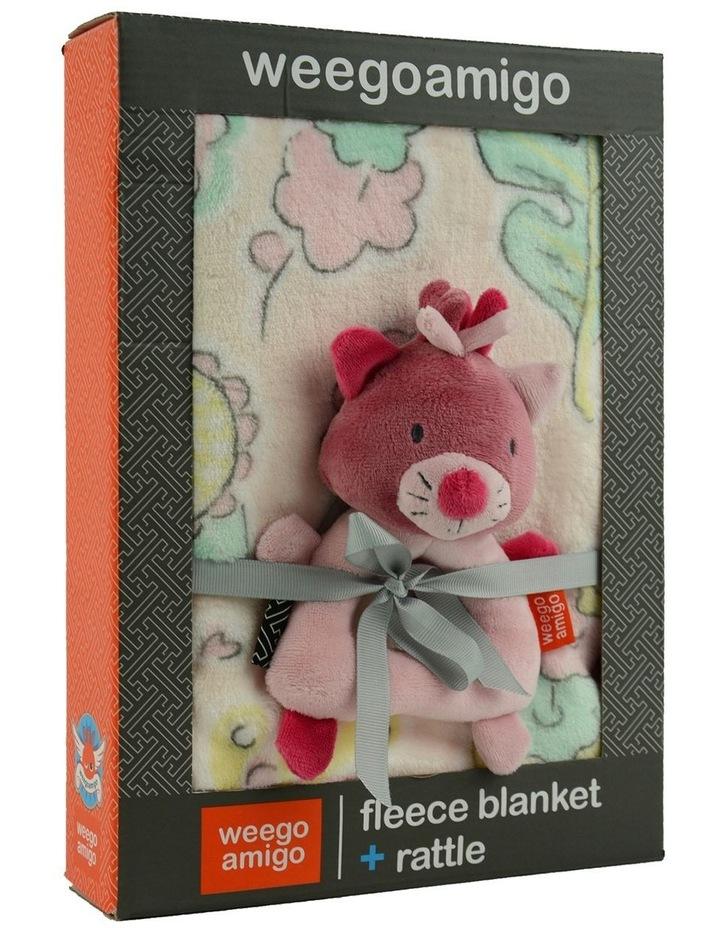 Weego Colourplay Plush Rattle   Blanket - Kitten image 3