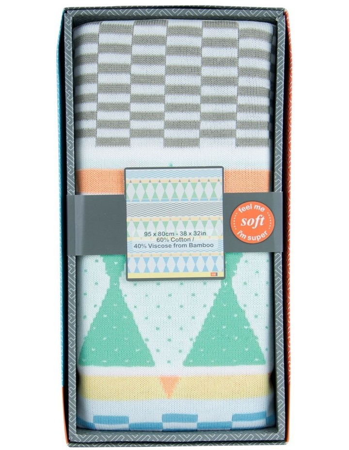 Bestee Bamboo Knit Blanket - Harlequin image 2