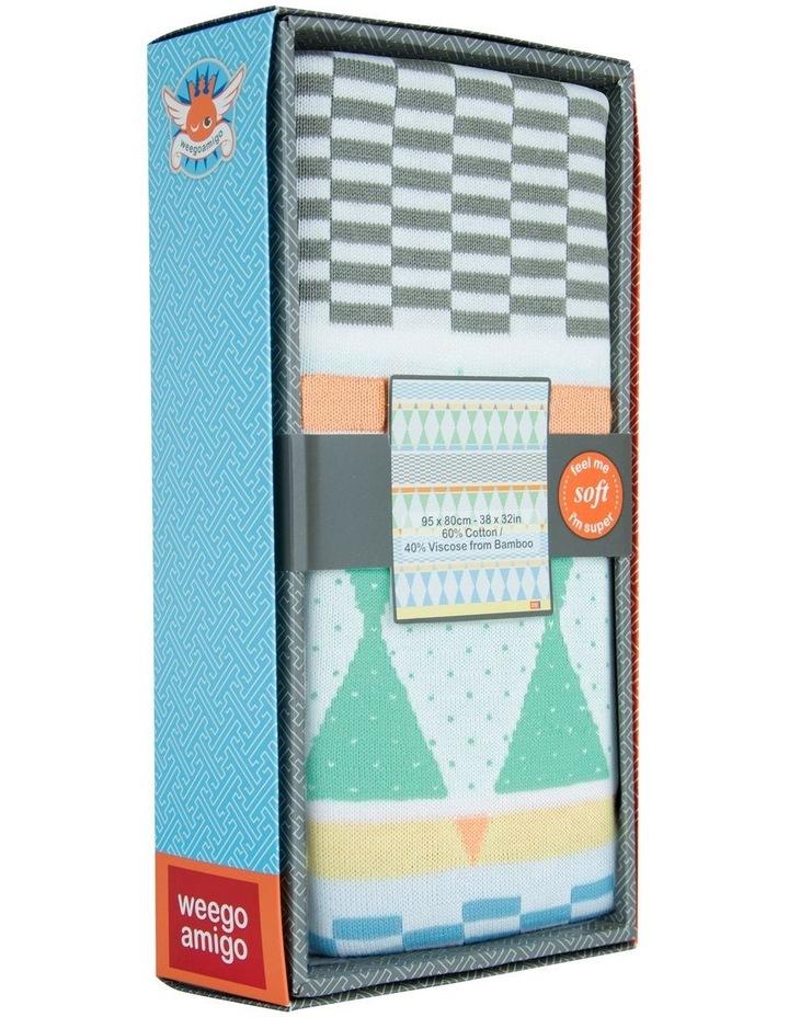 Bestee Bamboo Knit Blanket - Harlequin image 3