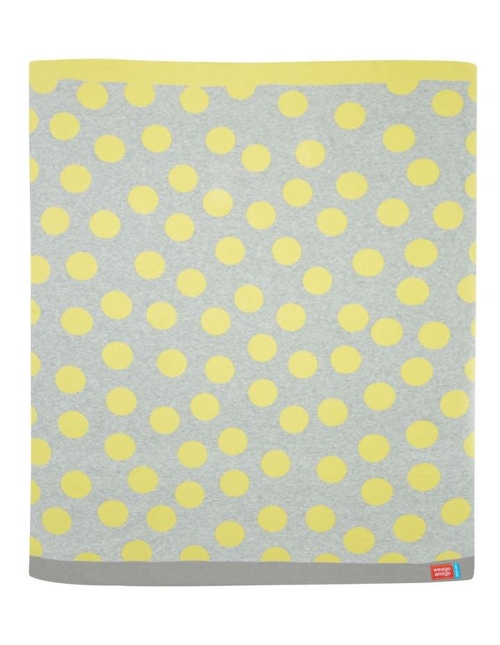Journee Knit Blanket - Morgan Yellow image 1