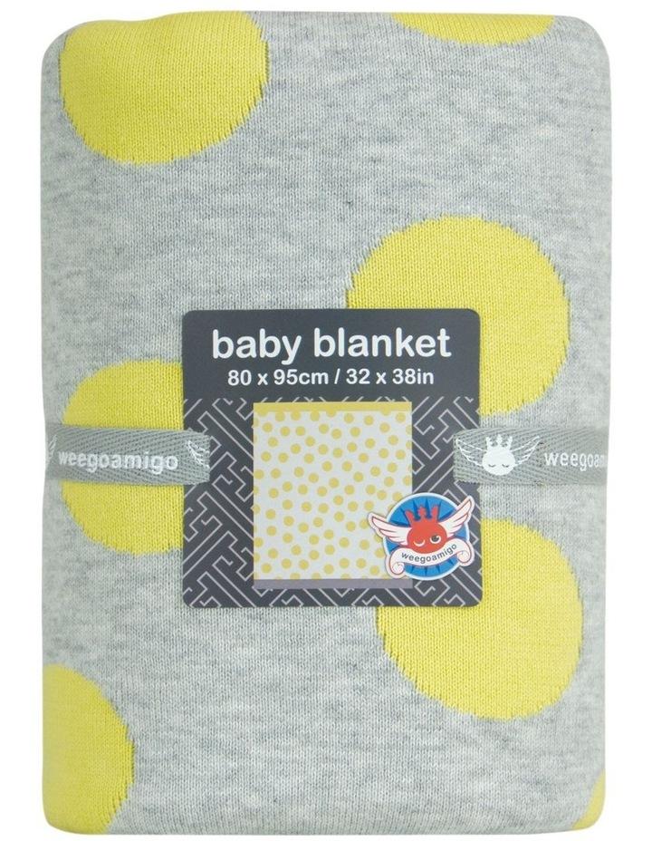 Journee Knit Blanket - Morgan Yellow image 2