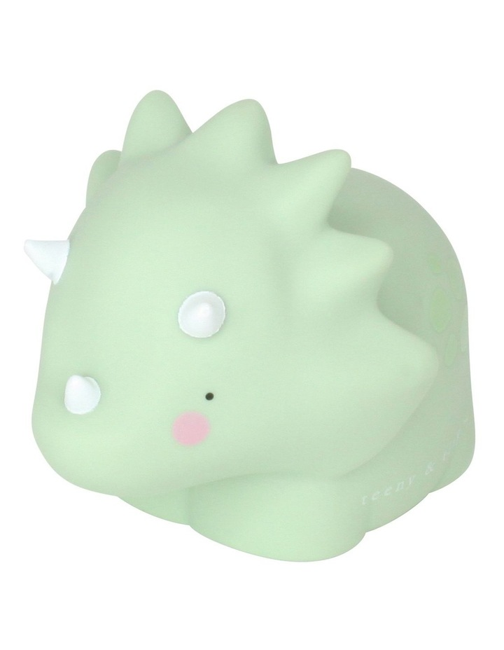 Triceratop Little Light Small Pastel Green image 1