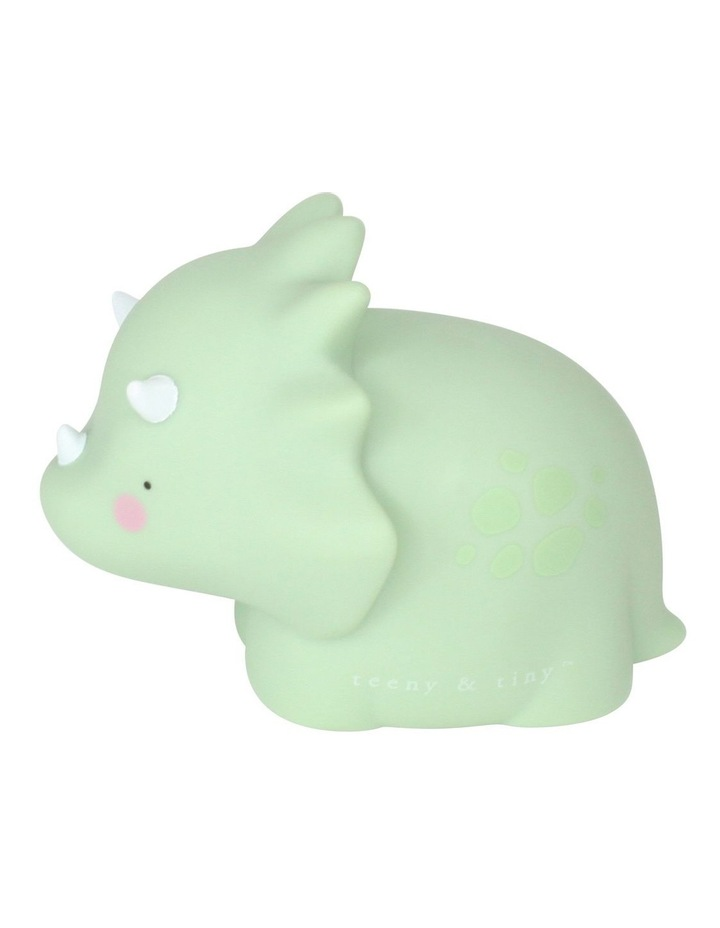 Triceratop Little Light Small Pastel Green image 2