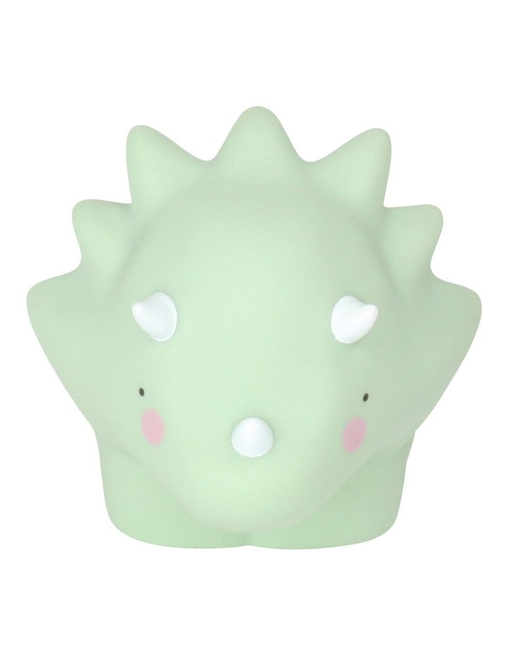 Triceratop Little Light Small Pastel Green image 3