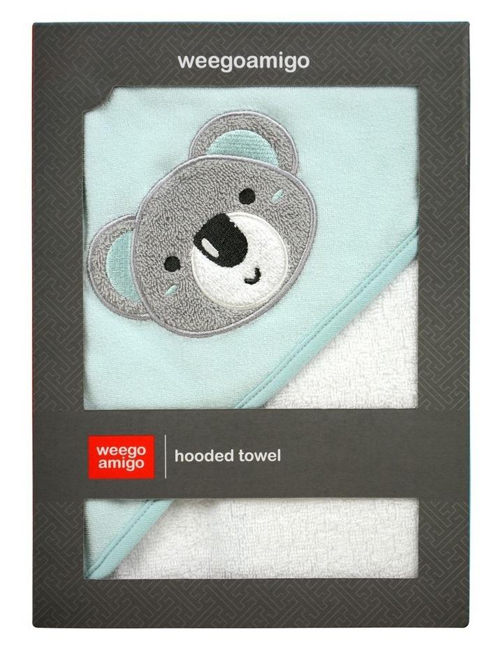 Hooded Towel - Aussie Mates Mint image 1
