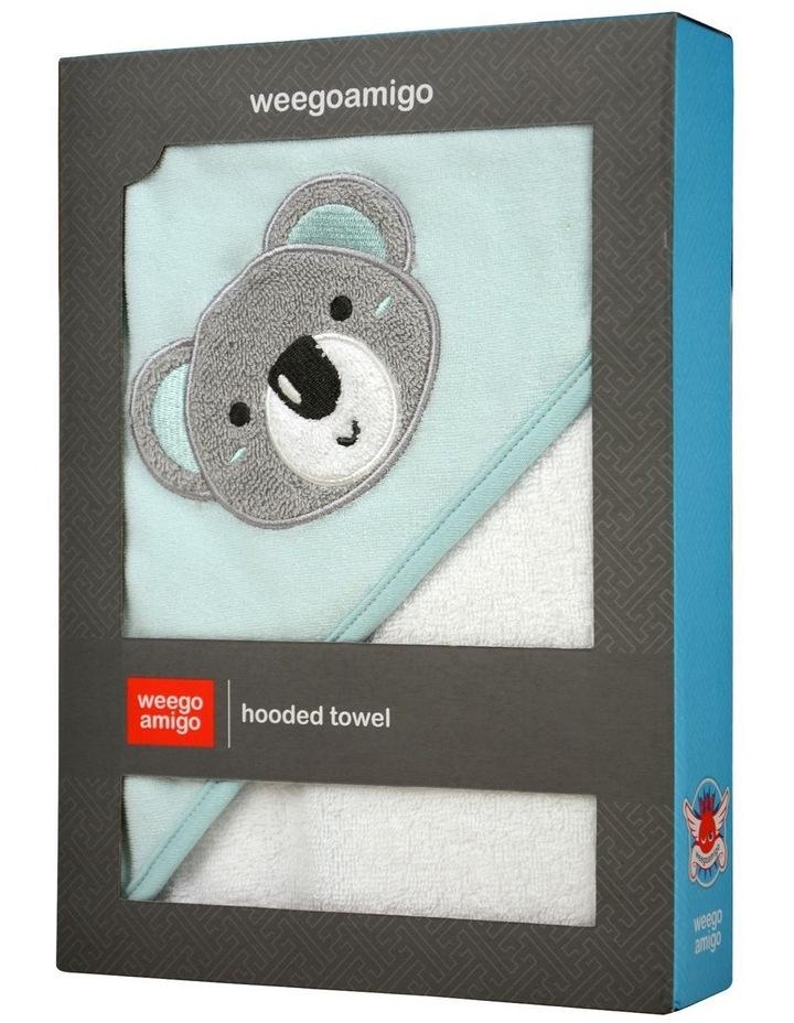 Hooded Towel - Aussie Mates Mint image 2