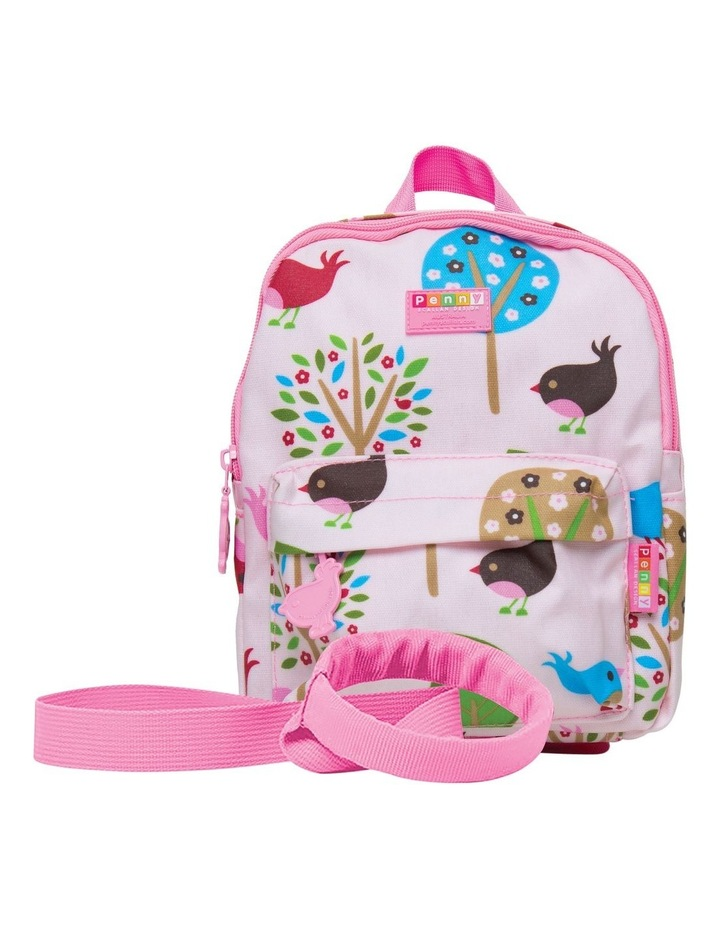 Mini Backpack with Rein Chirpy Bird image 1