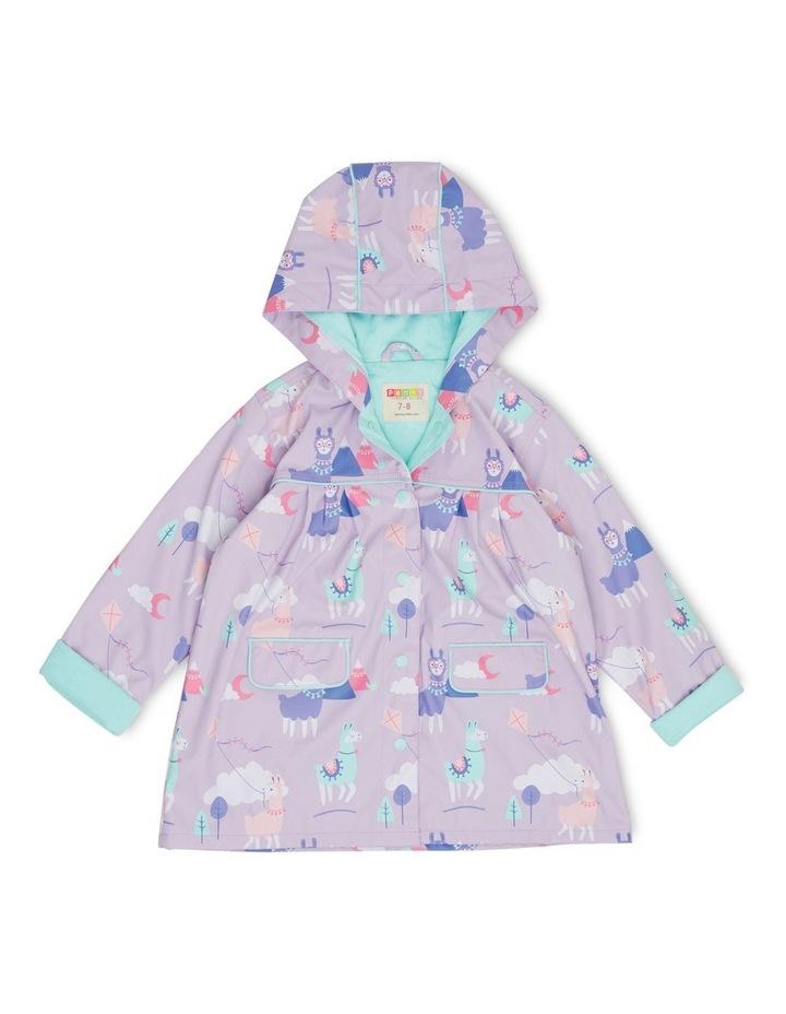 Raincoat Size 3-4 Loopy Llama image 1