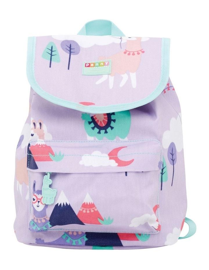 Top Loader Backpack Loopy Llama image 1