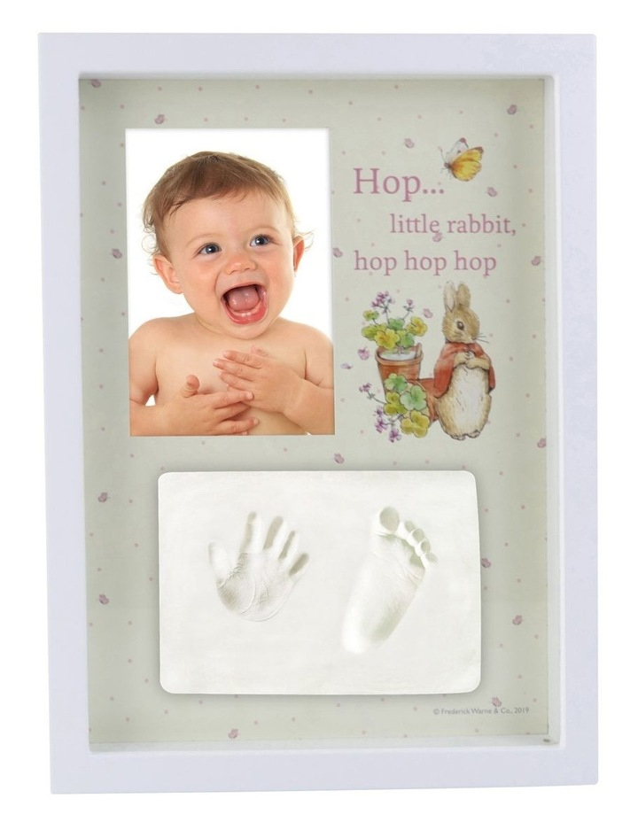 Beatrix Potter Baby Hand/Foot Clay Frame Gift Set image 1