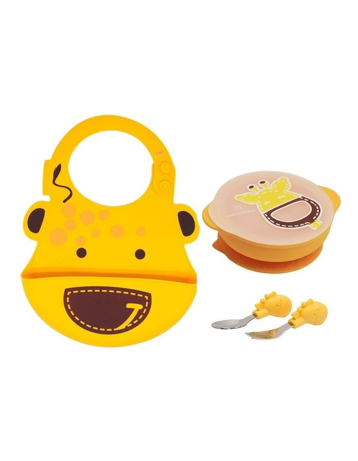 Toddler Training Set Lola Giraffe Yellow image 1