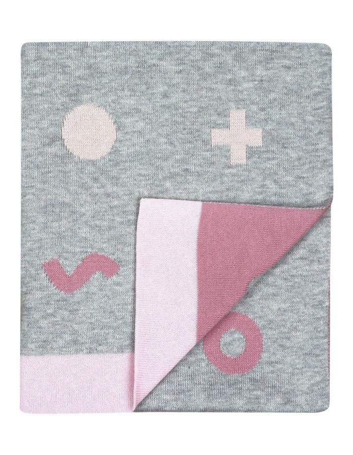 Weego HOLA! Knit Blanket - Digital Pink image 1