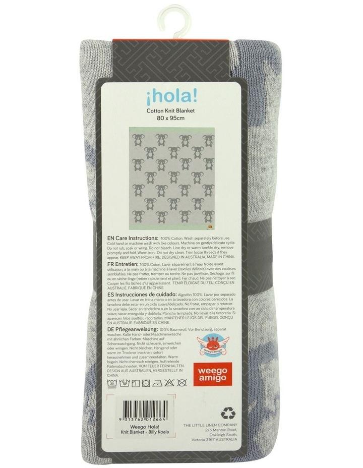 Weego HOLA! Knit Blanket - Billy Koala image 3