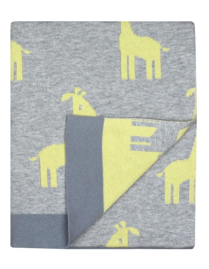 Weego HOLA! Knit Blanket - Giraffe March image 1