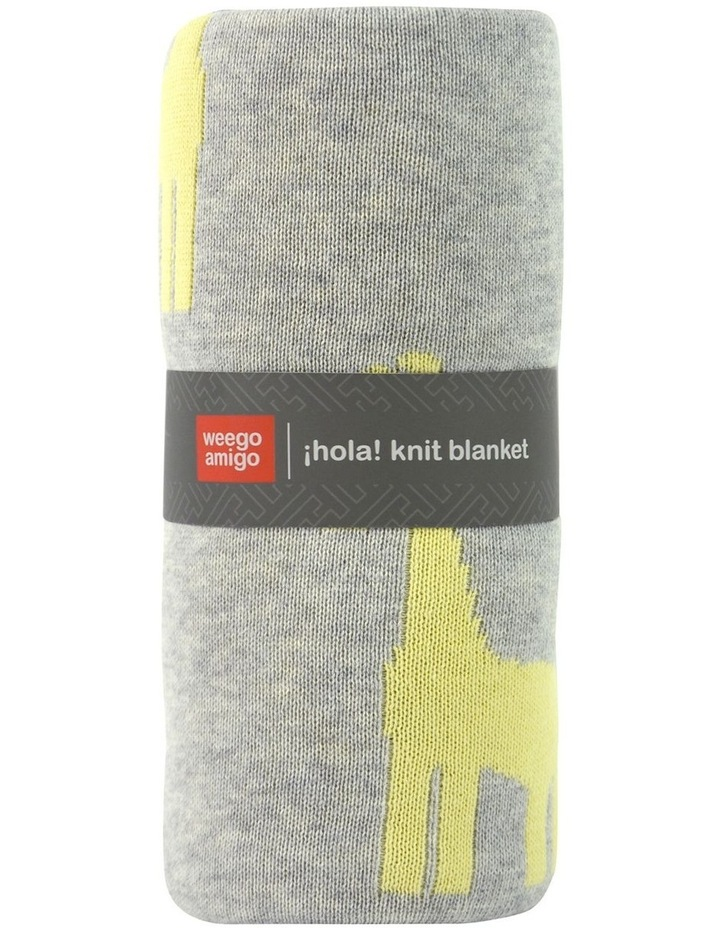 Weego HOLA! Knit Blanket - Giraffe March image 2